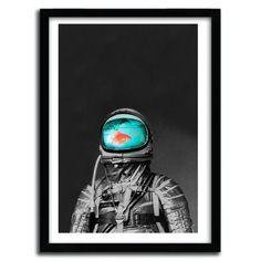 Underwater Astronaut Print by Budi Satria Kwan