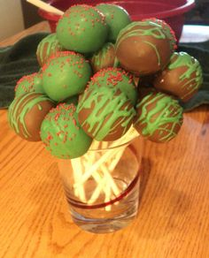 Gluten Free Cake Pops (Gluten, Nut, and Soy free)! I'm so going to try this!