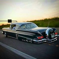 Custom 1958 Chevy Impala.