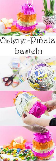 Osternest mal anders – bunte Osterei-Piñata