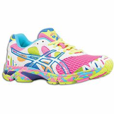 """ASICS® Gel - Noosa Tri 7 - Women's (I love these for running at night. The """"Noosa"""" on the front & the writing on the back of the shoes glow in the dark. Awesome right?! Great for safety:))"""