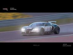 The Bugatti Veyron is a vehicle featured in Gran Turismo 6 and Gran Turismo Sport. Bugatti Veyron, Car In The World, Red Bull, Circuit, Youtube, Ring, Sports, Hs Sports, Rings