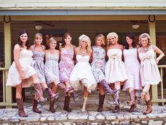 too cute, country wedding