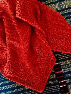 Free Pattern: Lieselotte Shawl by Beatrice Perron Dahlen