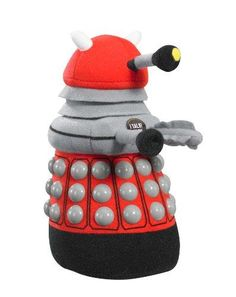 Doctor Who Dalek Talking Plush Color: Red - http://coolgadgetsmarket.com/doctor-who-dalek-talking-plush-color-red/