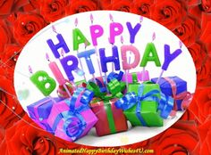 Animated Happy Birthday Wishes, Happy Birthday Words, Happy Birthday Video, Free Birthday Card, Birthday Blessings, Birthday Songs, Happy Birthday Greetings, Birthday Cards, Birthday Frames