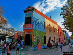 Quinquela Martin's birthplace.