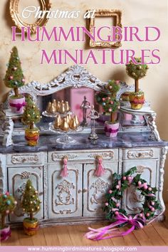 Hummingbird Miniatures: Coming soon this Christmas...