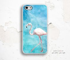 Pink Flamingo iPhone 6 Case iPhone 5 Case iPhone 6 by Percasive
