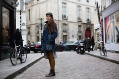 LOVE this street. On the Street…… Rue Vieille du Temple, Paris « The Sartorialist