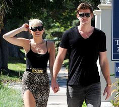 Miley Cyrus Meets Up With Liam Hemsworth in Canada