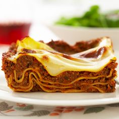 Low-Fat Meaty Lasagna Recipe - Cook's Country