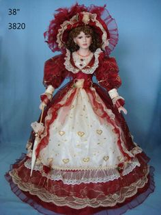 history Porcelain Doll- looks a lot like a doll I once had, so beautiful