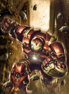 Avengers : Age of Ultron - Hulk Buster by NO-LooK-PaSS