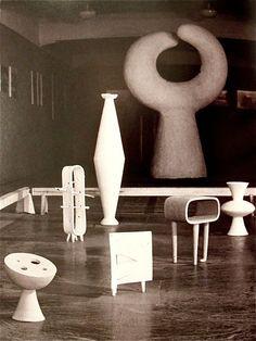 isamu noguchi ceramics 1950  http://www.pinterest.com/elisevashby/art-modern-sculpture/