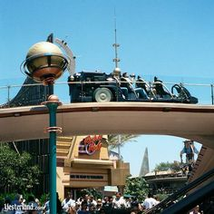 At Disneyland Park, the Rocket Rods attraction premiered on May 22, 1998.  It closed for good Sept 2000. Lack of a corporate sponsor & wear & tear on the vehicles were the likely culprit.