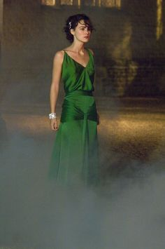 Keira Knightley - Atonement (2007) (1674×2520) #greendress