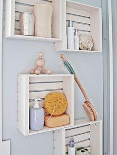 Die 8 besten Bilder auf Wandregal bad | Bathroom, Home decor und ...