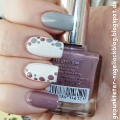 Punkte-Skittle-Nageldesign Mani Pedi, Mary Kay, You Nailed It, Nail Art Designs, Nail Polish, Hair Beauty, Design Ideas, Paint, Makeup