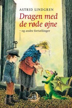"""""""Dragen med de røde øjne og andre fortællinger"""" af Astrid Lindgren. Har kunnet fås i Bilka og Føtex."""