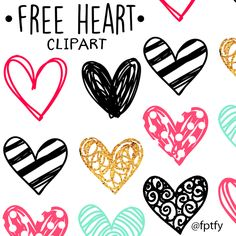 Doodle Heart Clip art: Today's free digital good is a collection of Doodle Heart Clip Art in pink, gold and black! Let your creativity run wild with these! They are not only perfect for this upcoming Valentines day.. but could be used year round. They come in 3 full 12×12 transparent sheets Download  click the...Read More »