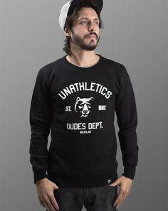 "The Dudes ""Smoking Bear"" Sweatshirt."
