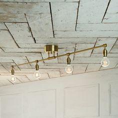 Gold Interior, Interior Garden, Best Interior, Ceiling Lamp, Ceiling Lights, Room Lights, Track Lighting, Lightning, House