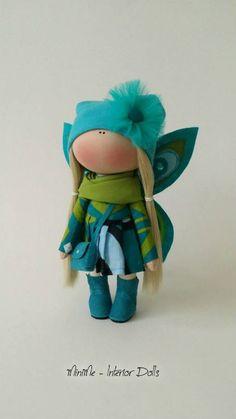 Handmade doll toy Tilda doll Interior doll Art doll