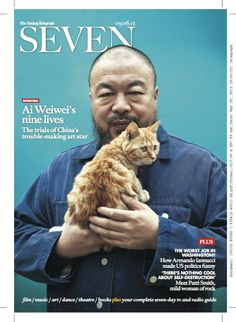 cover: Ai Weiwei photographed by Matthew Niederhauser in SEVEN - instituteartist.com