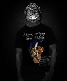 Kaos Sunda Sima Aing Sima Maung