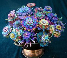 Polymer Clay Floral Dreamscapes, Carol Simmons and Maureen Carlson http://www.shakeragalley.com/mixed-media-workshops-classes