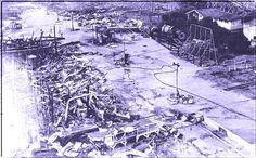 Luna Park fire 8-12-1944 Coney Island, Mount Everest, City Photo, Fire, Mountains, Nature, Travel, Naturaleza, Viajes