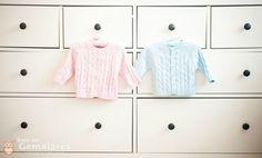 Gemelares.com.br - Site para gestantes e mães de gêmeos, trigêmeos, quadrigêmeos ou mais! : Quarto casal de gêmeos - Rosa e Azul