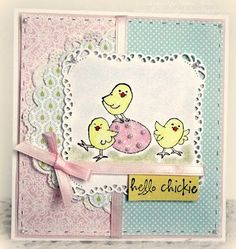 Easter Chicks from Art Impressions