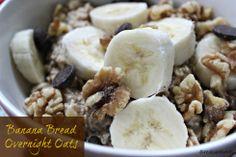 Banana bread overnight oats