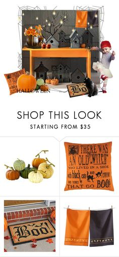 """""""Halloween Party"""" by quantumself ❤ liked on Polyvore featuring interior, interiors, interior design, home, home decor, interior decorating, Home Decorators Collection, Improvements, Tag and Halloweenparty"""