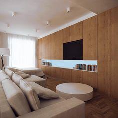 zabudowa ściany w salonie - Szukaj w Google