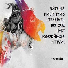 Coisas de Terê→ Goethe - 1749/1832 - Poeta alemão.