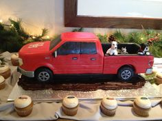 Ford F150 Grooms Cake