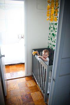 Motherhood Mondays: Nursery in a Closet | A Cup of Jo