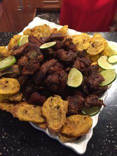 Homemade Haitian Griot