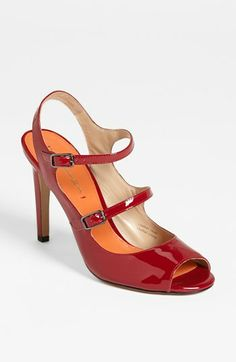 Via Spiga 'Roseanne' Sandal available at #Nordstrom  #red #Love