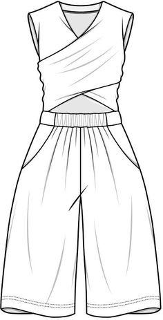 Flat sketch pad   ♦F&I♦ Fashion Illustration Sketches, Fashion Sketchbook, Fashion Sketches, Flat Sketches, Dress Sketches, Fashion Templates, Cad Drawing, Fashion Portfolio, Fashion Line
