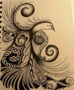 Very reminiscent of Russian folk art, bringing some heritage into my tattoo plans