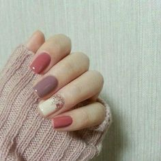 Cute nails for fall or winter