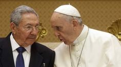 Raul Castro thanks Pope Francis for brokering Cuba-US deal Cuban President Raul Castro has praised Pope Francis for brokering the restoration of relations between Cuba and the US, announced in December. At the end of an audience at the Vatican, Mr Castro said he had thanked the Pope for his contribution for the historic rapprochement. Secret negotiations to put an end to more than five decades of hostilities were carried out inside the Vatican. The Pope will visit Cuba on his way to the US…