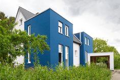 Wärmedämmung Umbau Wohnhaus Blaues Haus