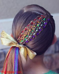 17 Trendy Kids Hairstyles You Have to Try-Out on Your Kids Crazy Hair Styles for Girls, Winter Hairstyles, Little Girl Hairstyles, Braided Hairstyles, Funny Hairstyles, Short Hairstyles, Teenage Hairstyles, Hairdos, Short Haircuts, Kids School Hairstyles