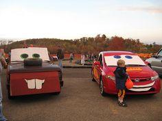 cute trunk or treat cars theme