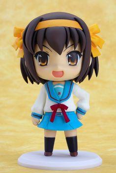 Buy PVC figures - Melancholy of Haruhi PVC Figure - Nendoroid Haruhi - Archonia.com
